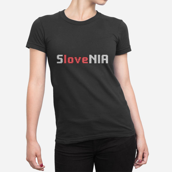 Ženska kratka majica Slovenia