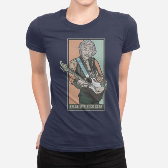 Ženska kratka majica Relativna rock zvezda