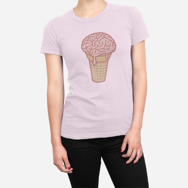 Ženska kratka majica Ledeni možgani