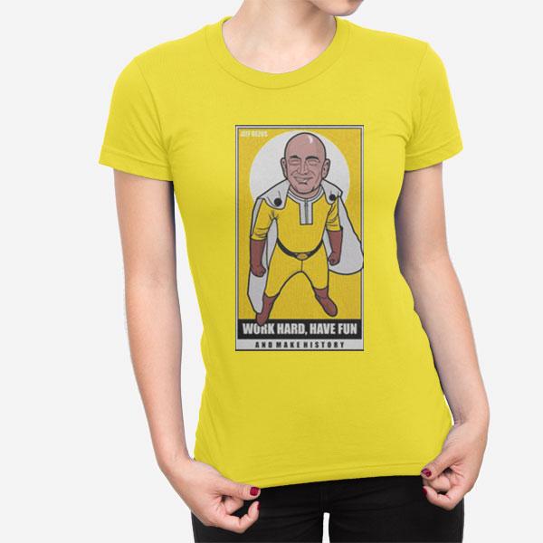 Ženska kratka majica Jeff Bezos