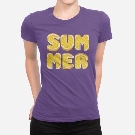 Ženska kratka majica Limonsko poletje