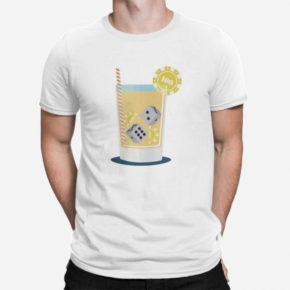 Moška kratka majica Koktajl kocke