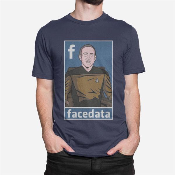 Moška kratka majica Facedata