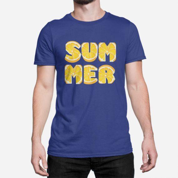 Moška kratka majica Limonsko poletje
