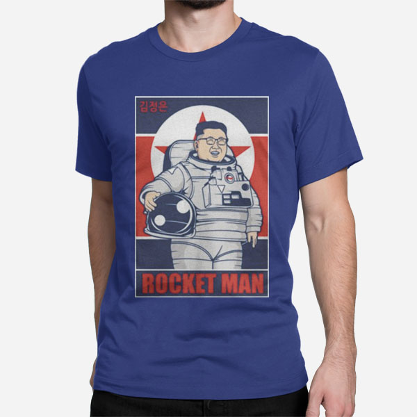 Moška kratka majica Rocket Man