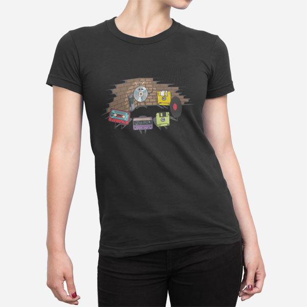 Ženska majica Disketna grožnja