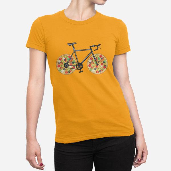 Ženska kratka majica Pizza kolo