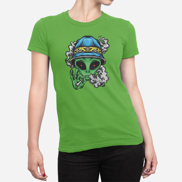 Ženska majica Chill Alien