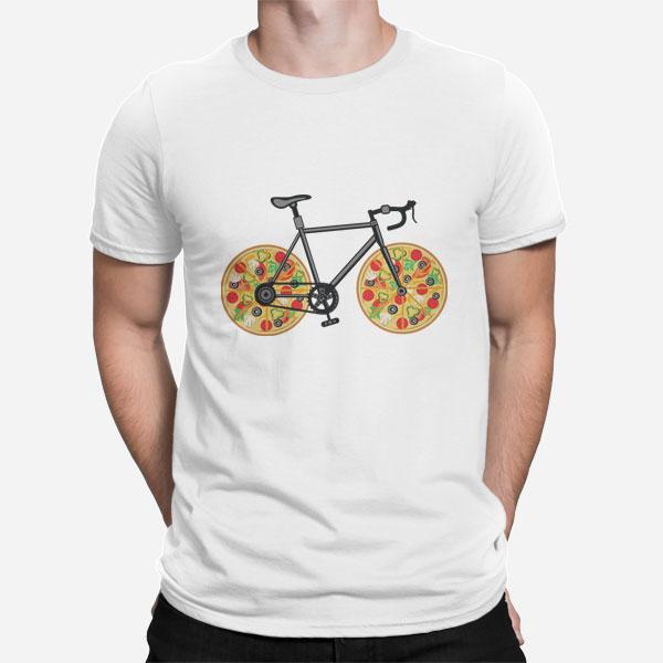Moška kratka majica Pizza kolo