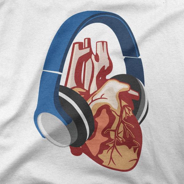 Design Glasba srca