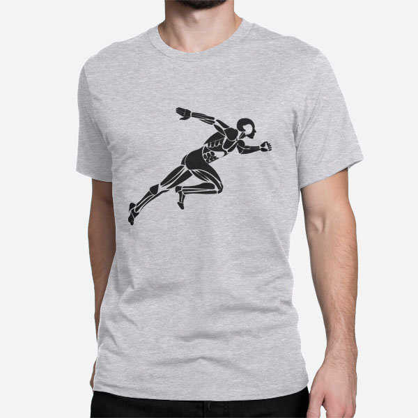 Moška kratka majica Tekač na kratke proge