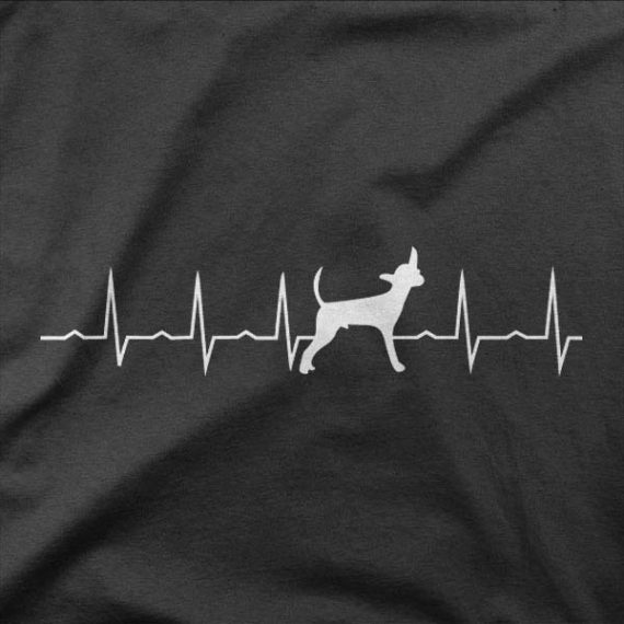 Design majice Srčni utrip Čivava