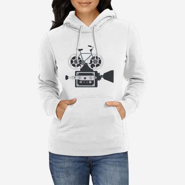 Ženski pulover s kapuco Kolesarska majica