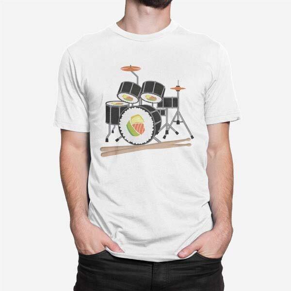 Moška majica kratek rokav Sushi bobni