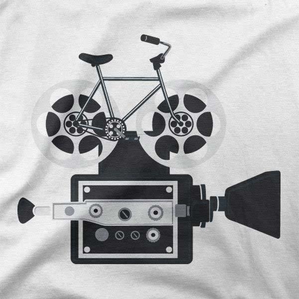 Potiskana majica Kolesarska kamera