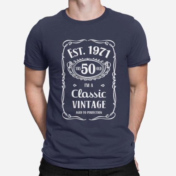 Moška majica za 50 let