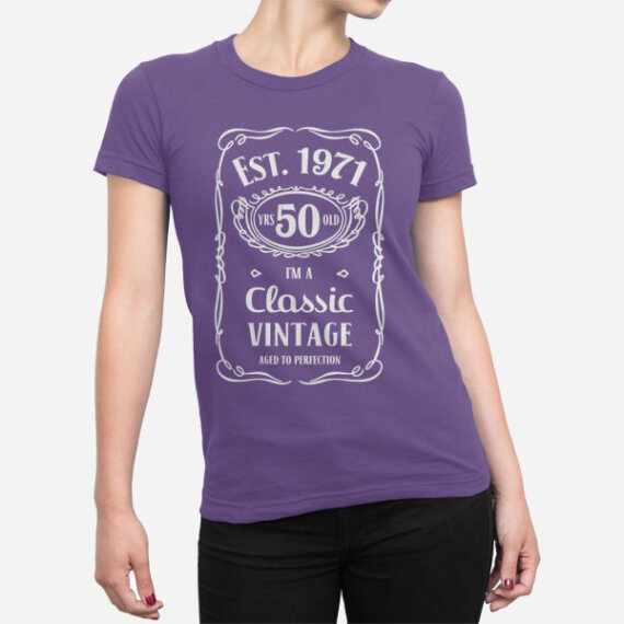 Ženska majica za 50 let