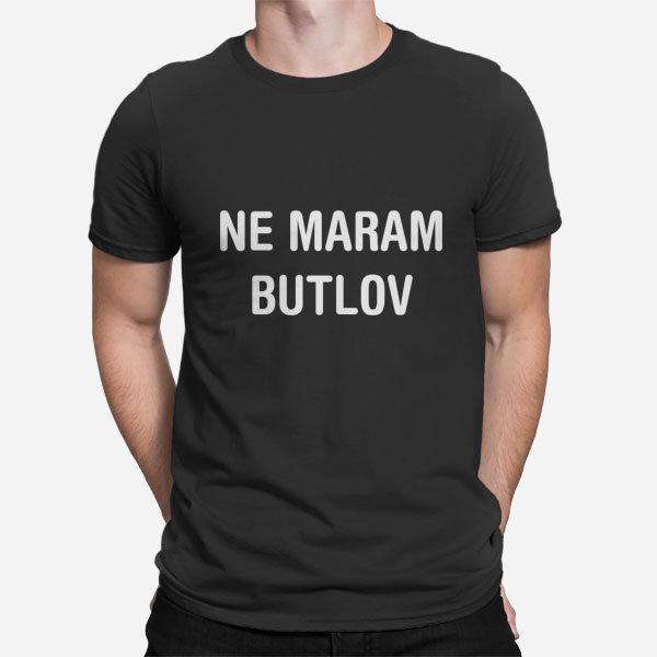 Moška majica Ne maram butlov