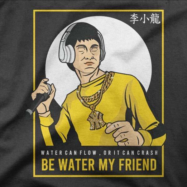 Majica Bruce Lee Rapper