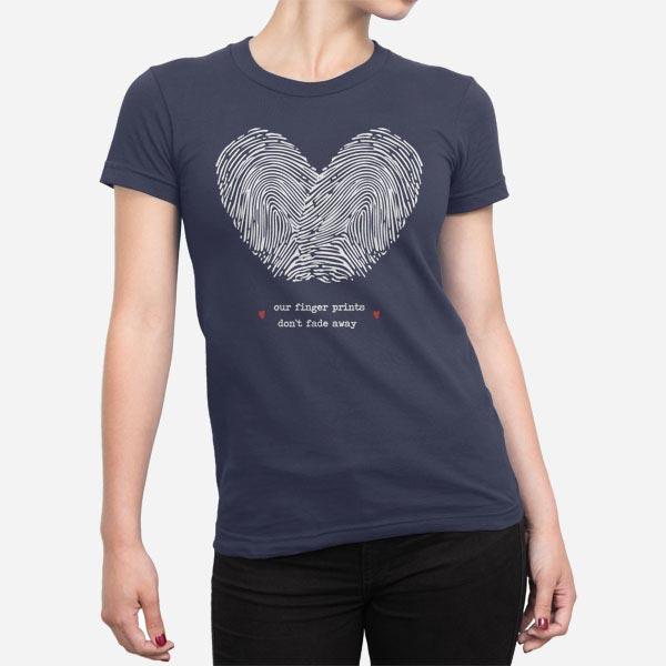 Ženska majica Prstni odtis