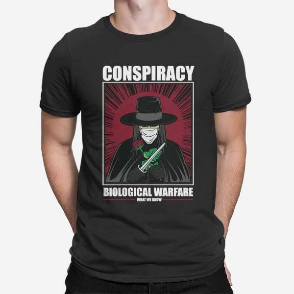 Moška kratka majica Vendetta Masker