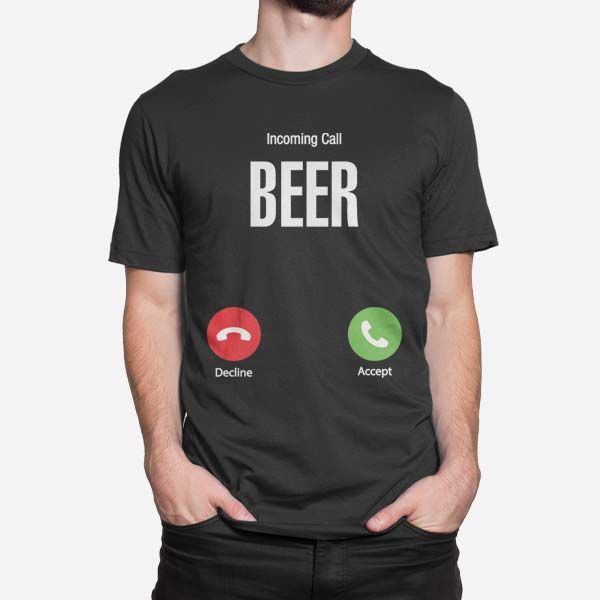 Moška kratka majica Dohodni klic