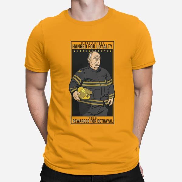 Moška majica Putin Fireman