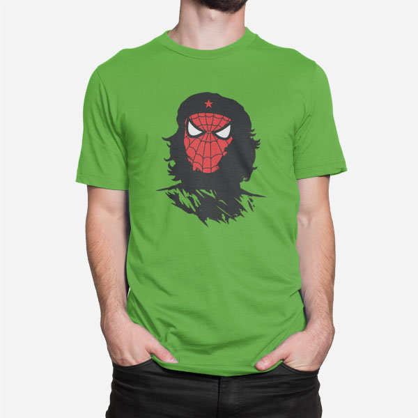 Moška majica Spider revolution