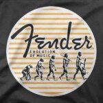 Majica Evolucija glasbe Fender