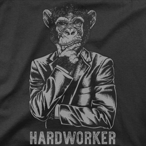 Majica Trdo delam