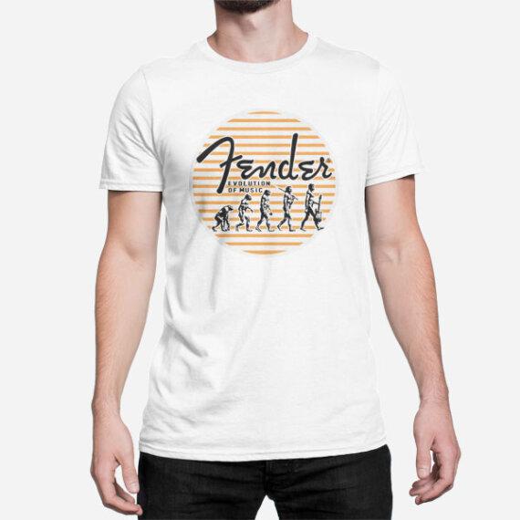 Moška kratka majica Evolucija glasbe