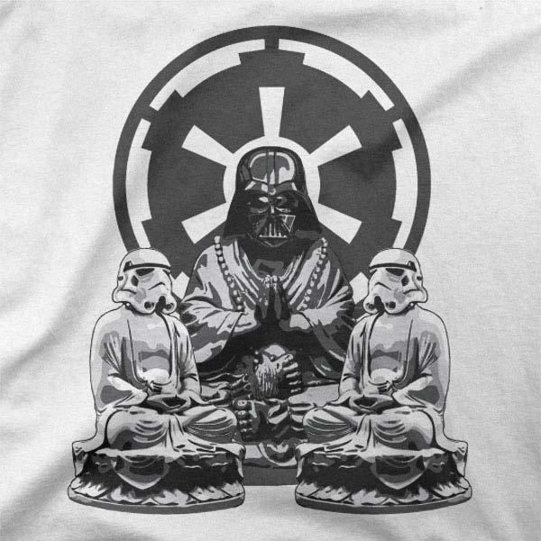 Majica Zen Vader meditacija
