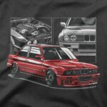 Majica BMW M3 E30