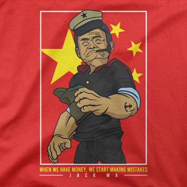 Majica Popaj Jack Ma