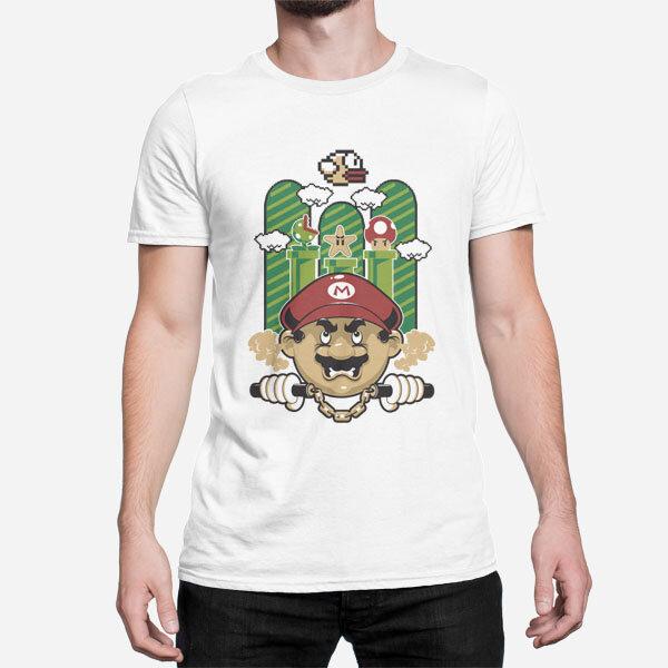 Moška majica Super Mario Bros
