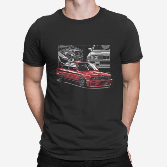 Moška majica BMW M3 E30
