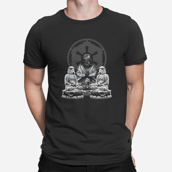Moška majica Zen meditacija