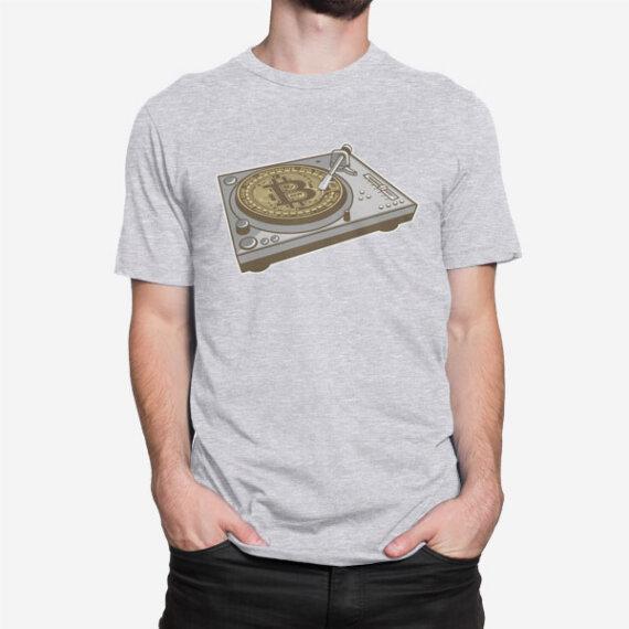 Moška majica Bitcoin mašina