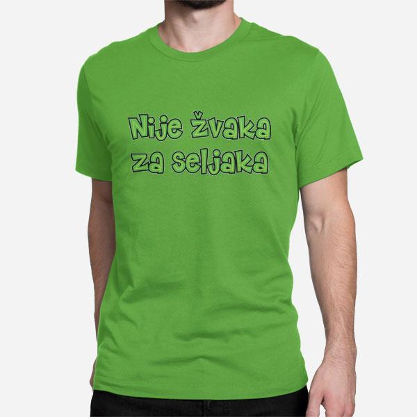 Moška majica Nije žvaka za seljaka