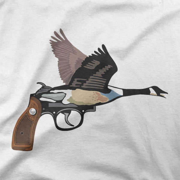 Majica Gosja ročna pištola