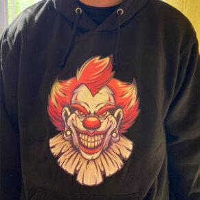 Majica Strašljivi klovn