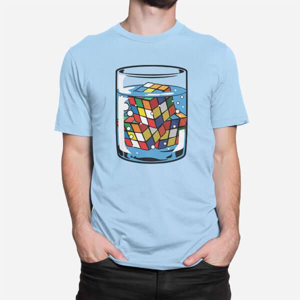 Moška majica Rubik kocka