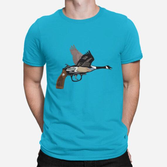 Moška kratka majica Gosja ročna pištola
