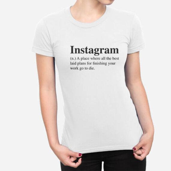 Ženska majica Instagram