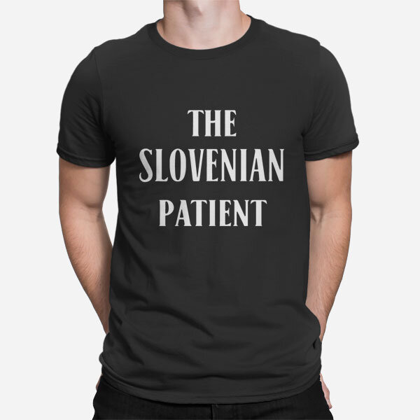 Moška kratka majica Slovenski pacient