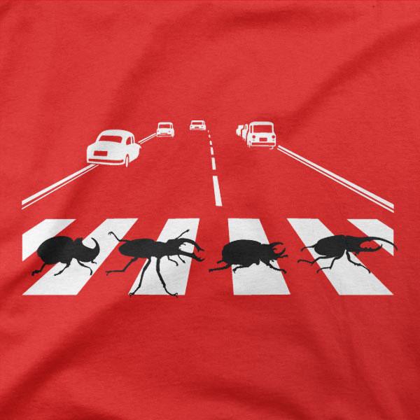 Motiv Abbey Road Beetles