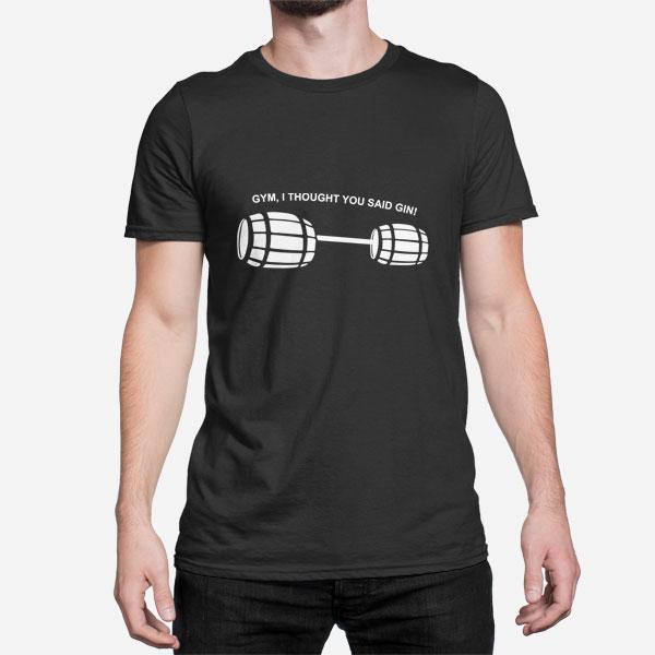 Moška majica kratek rokav GYM ali GIN