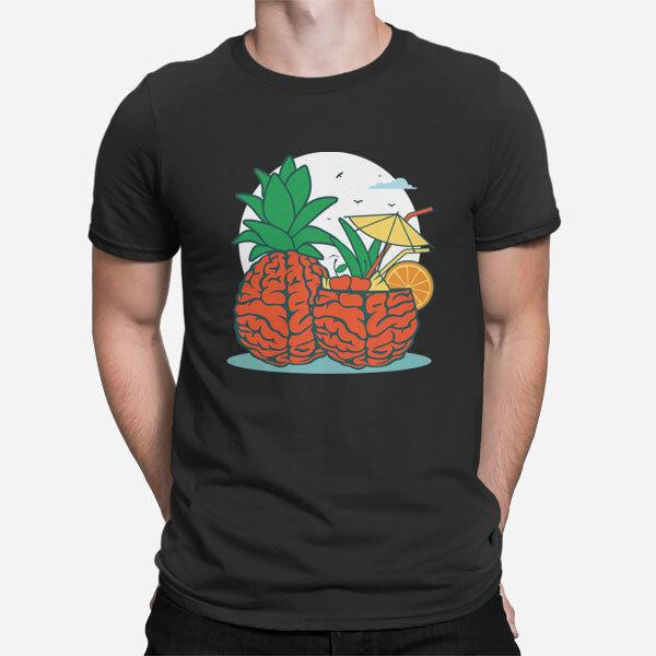 crna_moska_kratka_majica_Brain-Pineapple