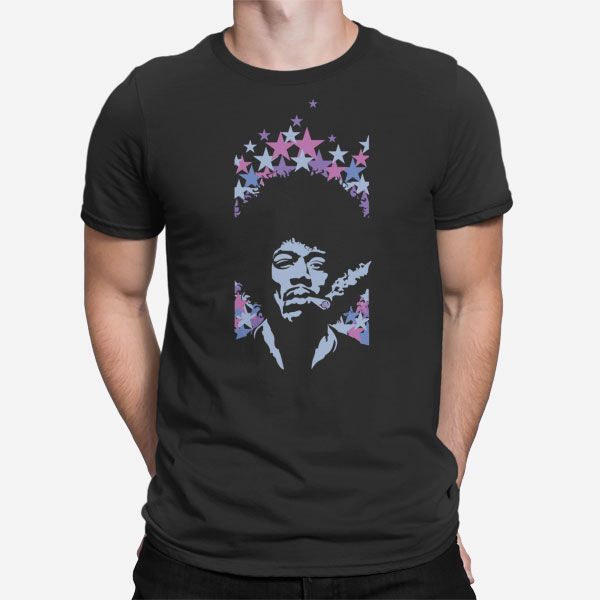 Moška kratka majica Jimi Hendrix