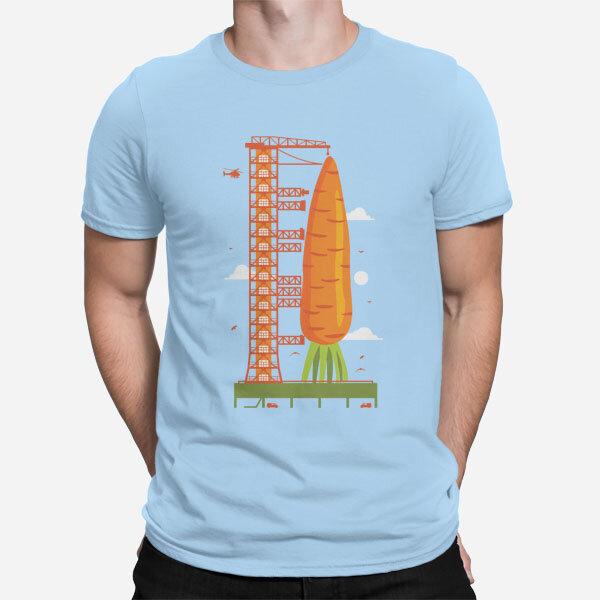 Moška majica kratek rokav Korenčkova raketa